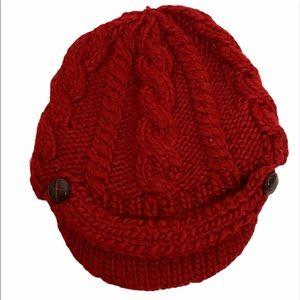 Bala Headwear Red Knitted Cap